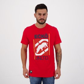 camiseta ecko ak48 vermelha