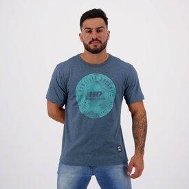 camiseta hd adventure waves azul mescla