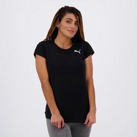 camiseta puma active feminina preta