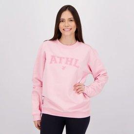 moletom athletico paranaense feminino rosa