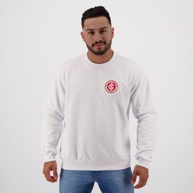 moletom internacional escudo branco