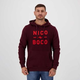moletom nicoboco starmon vinho