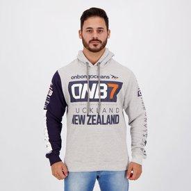 moletom onbongo new zeland cinza mescla