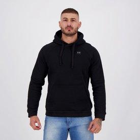 moletom under armour rival fleece hoodie preto