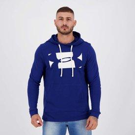 moletom under armour sportstyle hoodie azul