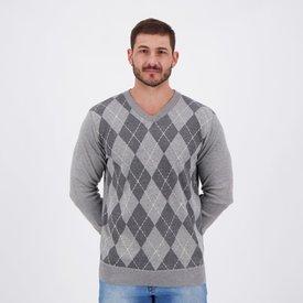 suéter john sailor deep winter cold cinza mescla