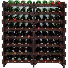 adega madeira 64 garrafas imbuia cevey adegas artesanatos