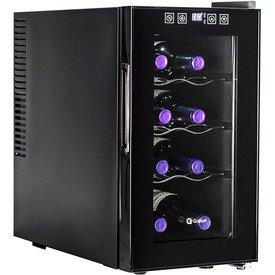 adega climatizada gallant milano 25l 8 garrafas preta 127v gad08p1zcpt127