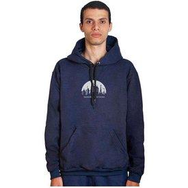 moletom agasalho sandro clothing city azul marinho