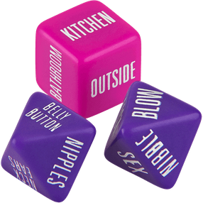 California Exotics Spicy Dice