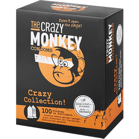 The Crazy Monkey Crazy Collection, 52 mm, 100 Stück