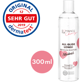 Romance For Charity 300 ml Neutral - All Glide Long!