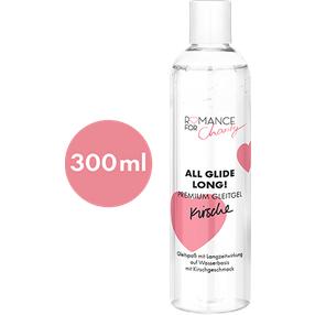 Romance For Charity 300 ml Kirsche - All Glide Long!