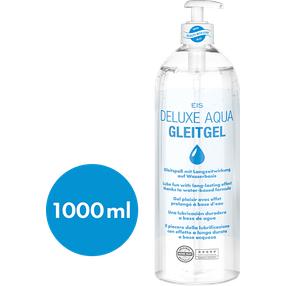 EIS Gleitgele 1000 ml Gleitspaß XXL Deluxe Aqua