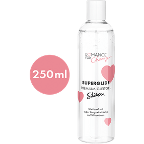 Romance For Charity 250 ml Silikon - Superglide