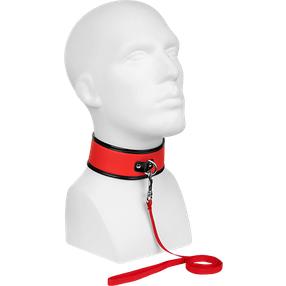 Guilty Pleasure Collar & Leash - Halsband mit Druckknopf