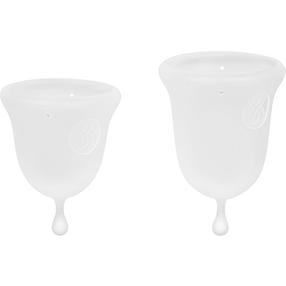 Jimmyjane Menstrual Cups, 2 Größen