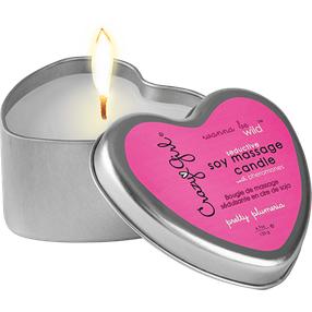 Crazy Girl Soy Massage Candle Pretty Plumeria, 133 g