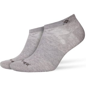 Burlington Everyday 2-Pack Damen Sneakersocken, 36-41, Grau, Uni, Baumwolle, 22051-340001