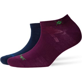 Burlington Everyday 2-Pack Damen Sneakersocken, 36-41, Rosa, Uni, Baumwolle, 22051-871001