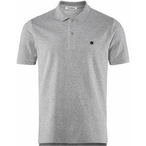Burlington Herren Polo-Shirt Polo, XXL, Grau, Raute, Baumwolle, 2169011-34000600