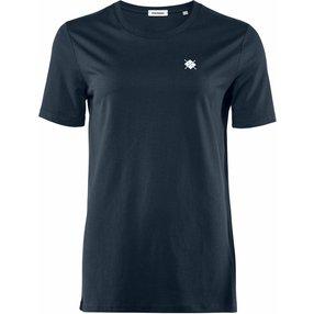 Burlington Damen T-Shirt Rundhals, S, Blau, Raute, Baumwolle, 2269005-61200200