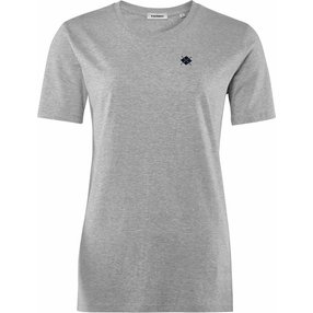 Burlington Damen T-Shirt Rundhals, S, Grau, Raute, Baumwolle, 2269005-34000200