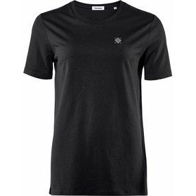 Burlington Damen T-Shirt Rundhals, XL, Schwarz, Raute, Baumwolle, 2269005-30000500