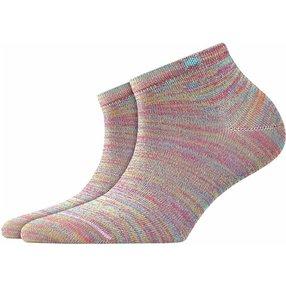 Burlington Tutti Frutti Damen Sneakersocken, 36-41, Pink, Baumwolle, 20770-855001