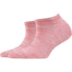 Burlington Tutti Frutti Damen Sneakersocken, 36-41, Rot, Baumwolle, 20770-885201