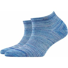 Burlington Tutti Frutti Damen Sneakersocken, 36-41, Blau, Baumwolle, 20770-625401