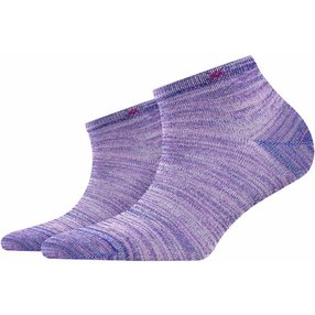 Burlington Tutti Frutti Damen Sneakersocken, 36-41, Rosa, Baumwolle, 20770-872501