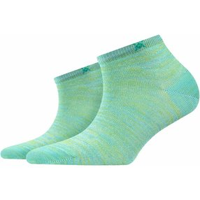 Burlington Tutti Frutti Damen Sneakersocken, 36-41, Grün, Baumwolle, 20770-726601