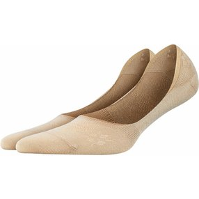 Burlington Everyday 2-Pack Damen Füßlinge, 37-38, Beige, Uni, Baumwolle, 22053-432001