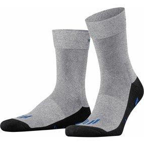 Burlington Lauf Socken, 40-46, Grau, Uni, 21900-377502