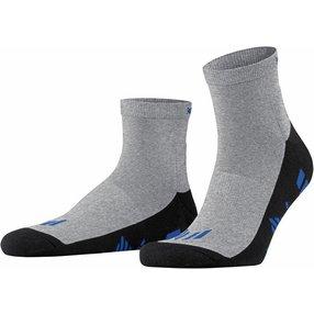 Burlington Lauf Socken, 40-46, Grau, Uni, 21899-377502