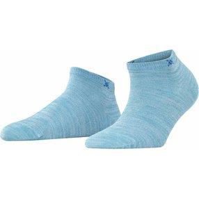Burlington Soho Vibes Damen Sneakersocken, 36-41, Blau, Baumwolle, 22100-629601