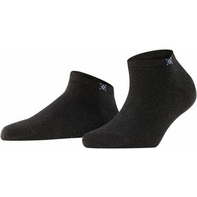 Burlington Soho Vibes Damen Sneakersocken, 36-41, Schwarz, Baumwolle, 22100-300001