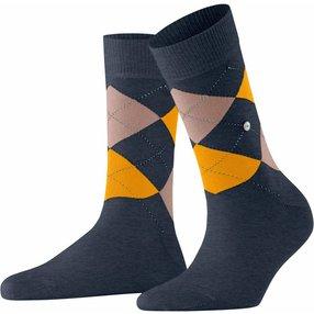 Burlington Queen Damen Socken, 36-41, Mehrfarbig, Argyle, Baumwolle, 22040-668901