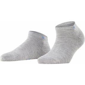 Burlington Soho Vibes Damen Sneakersocken, 36-41, Grau, Baumwolle, 22100-340001