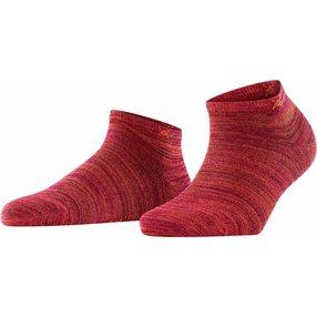 Burlington Soho Vibes Damen Sneakersocken, 36-41, Rot, 22100-801101