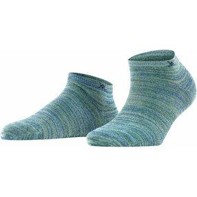 Burlington Soho Vibes Damen Sneakersocken, 36-41, Blau, 22100-794601