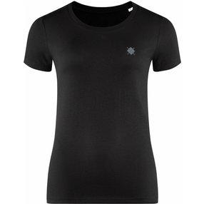 Burlington Damen T-Shirt Rundhals, M, Schwarz, Raute, Baumwolle, 2269012-30000400