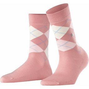 Burlington Covent Garden Damen Socken, 36-41, Mehrfarbig, Argyle, Baumwolle, 22188-864201