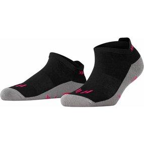 Burlington Lauf Sneakersocken, 36-41, Schwarz, Uni, 27010-300001