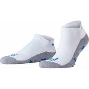 Burlington Lauf Sneakersocken, 40-46, Weiß, Uni, 21898-200002
