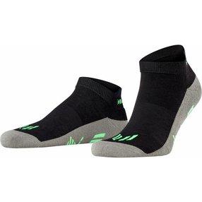 Burlington Lauf Sneakersocken, 40-46, Schwarz, Uni, 21898-300002