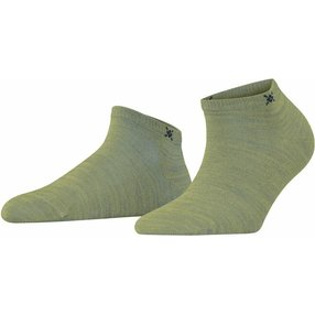 Burlington Soho Vibes Damen Sneakersocken, 36-41, Grün, 22100-708401