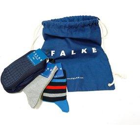 FALKE Turnbeutelset Kinder Socken  , 19-22, Mehrfarbig, Baumwolle, 12803-001001