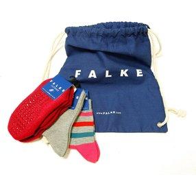 FALKE Turnbeutelset Kinder Socken  , 35-38, Mehrfarbig, Baumwolle, 12803-002005